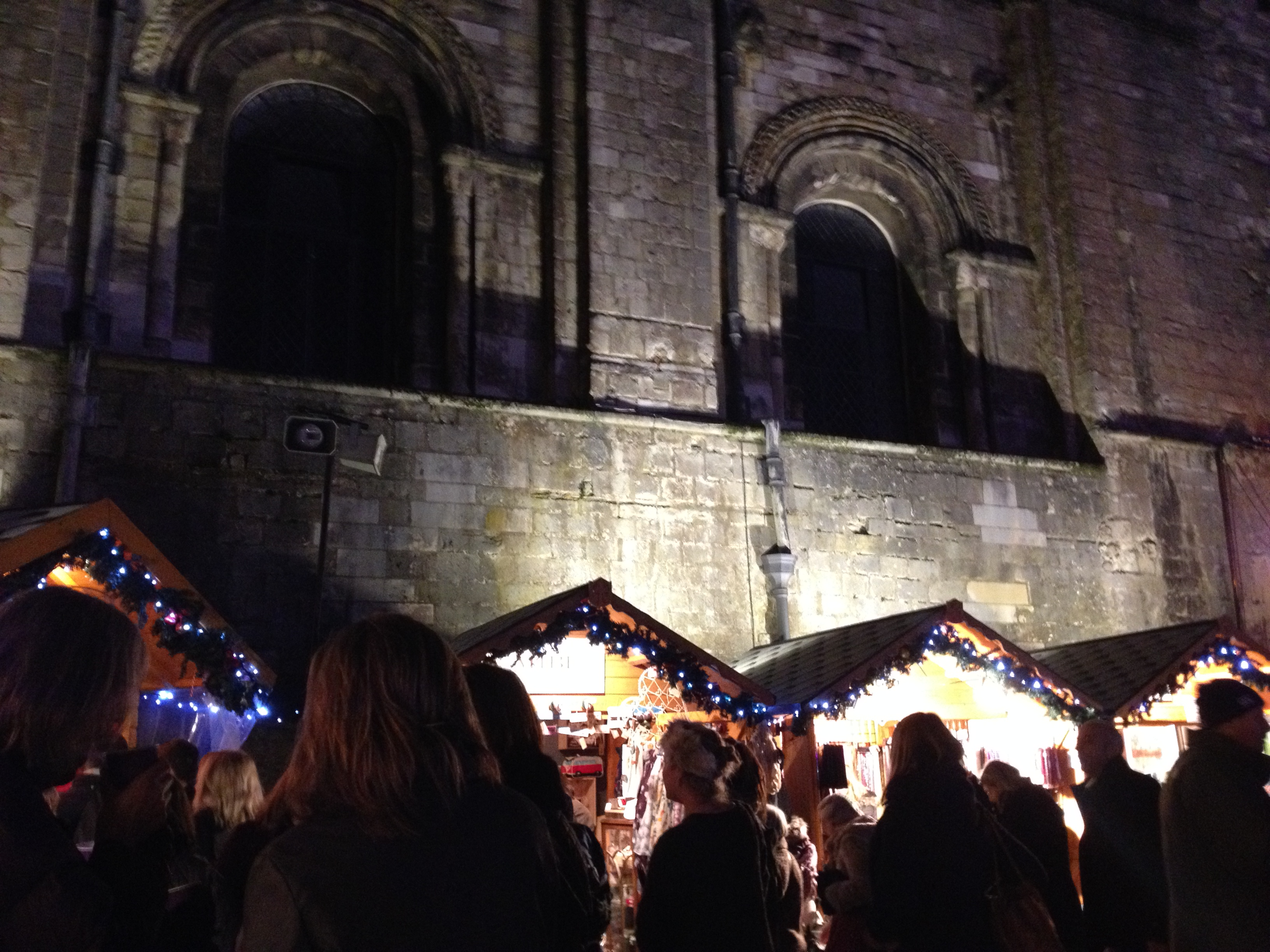 The WInchester Cathedral christmas market