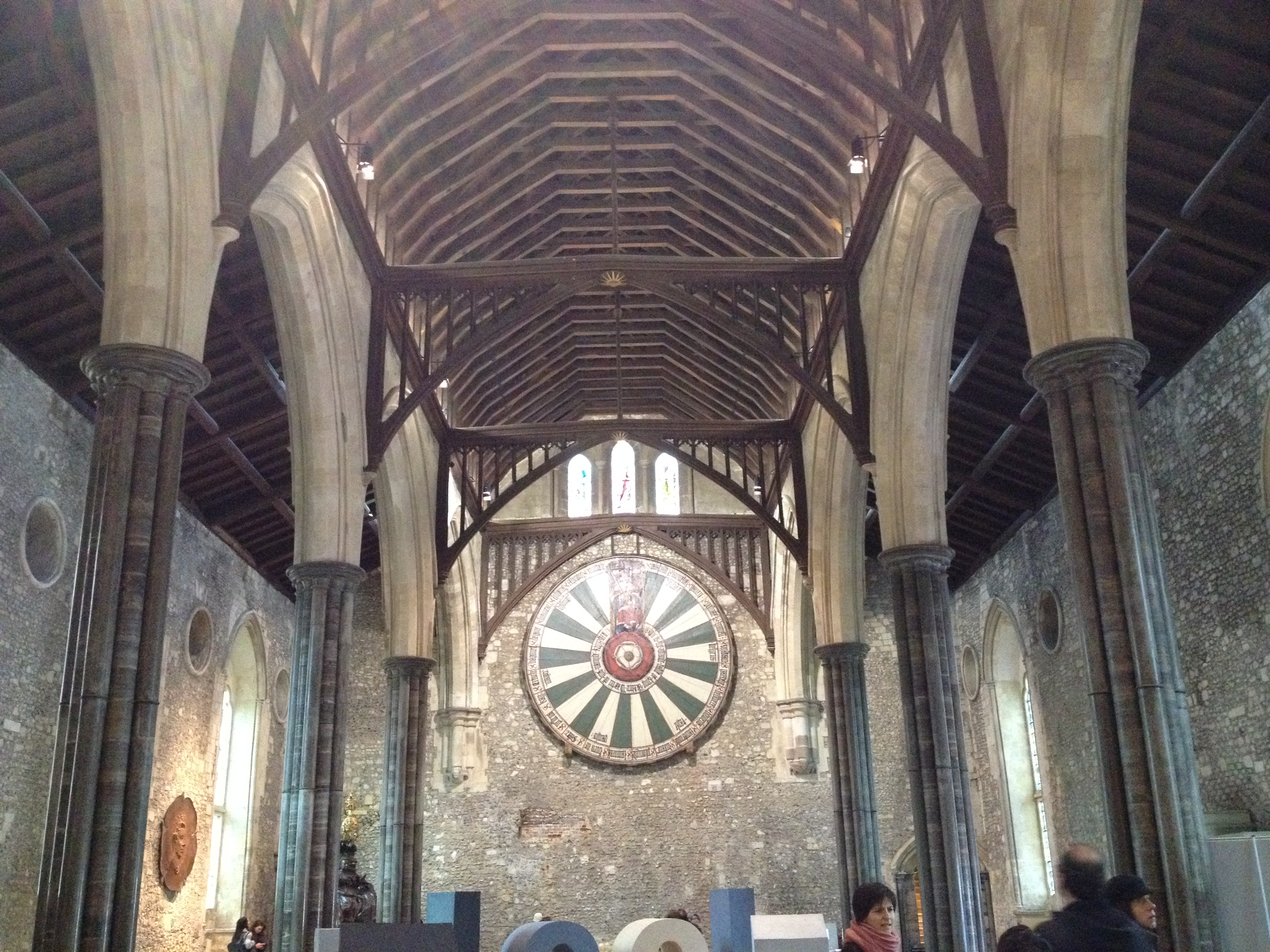 the great hall winchester castle and king arthur u0027s round table