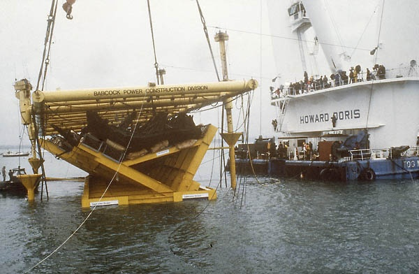 The Mary Rose salvage operation