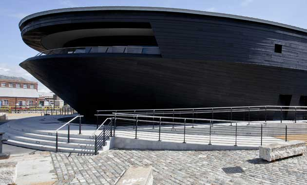 The new Mary Rose museum, Portsmouth