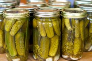 Pickles-in-Glass-Jars