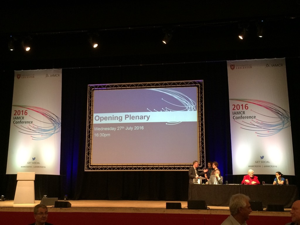IAMCR 2016 Opening Plenary Session