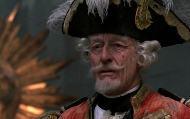 The Baron in Terry Gilliam's The Adventures of Baron Munchausen