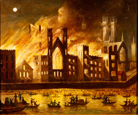 The fire of 1834