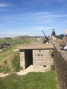 Wall defences, Dover Castle